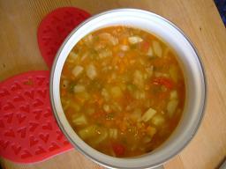 野菜たっぷりスープ♪
