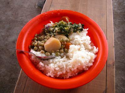 野菜&白米