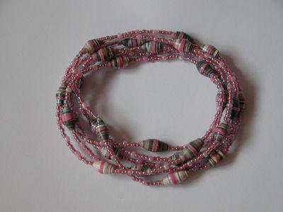 ロング紫ピンク混合2ー1