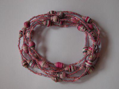 ロング紫ピンク混合3ー1