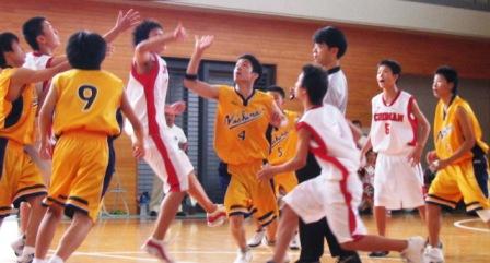 2003中体連(男バス)2