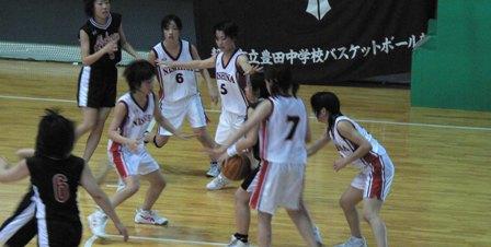2007中体連(女バス)2