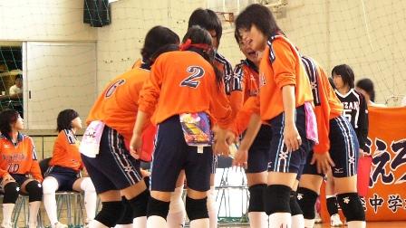 2007中体連(女バレ)1