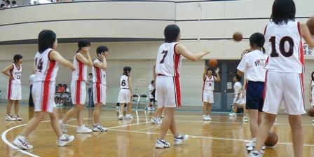2008中体連(女バス)2