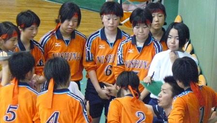2008中体連(女バレ)1