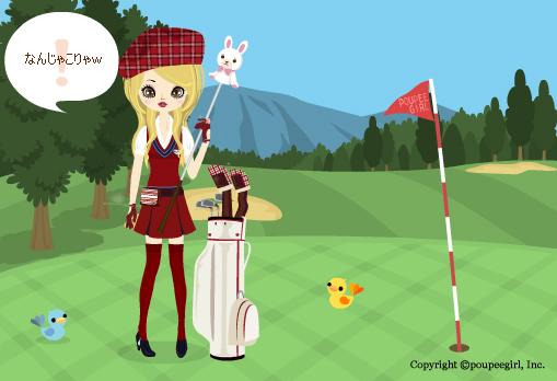 ゴルフ背景