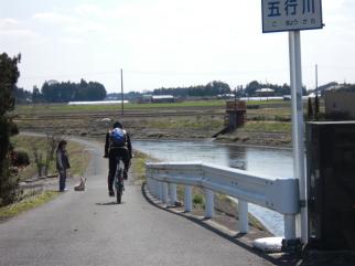 栃木県「五行川」サイクリング-9