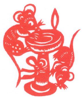 中国国際放送切り絵