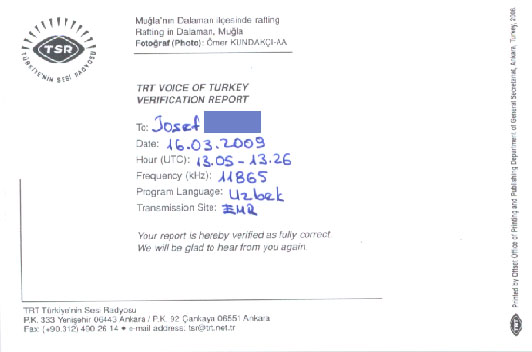 TRT VOICE OF TURKEY