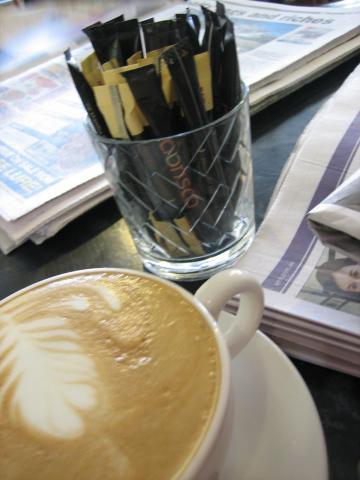 コーヒー@ランチオンローガン