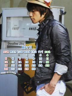 4月カレンダー01