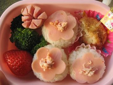 桃の節句弁当