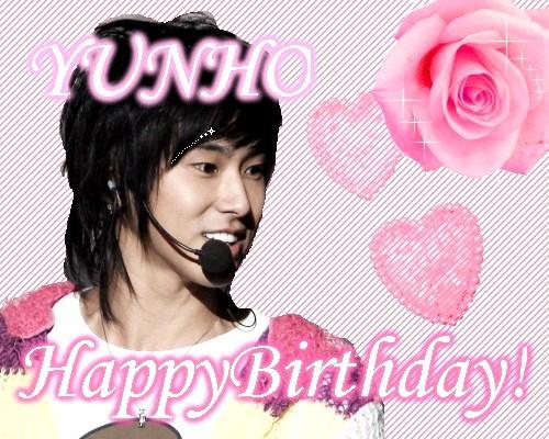 Happy Birthday...YUNHO!