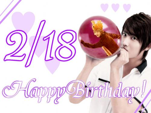 Happy Birthday...CHANGMIN!