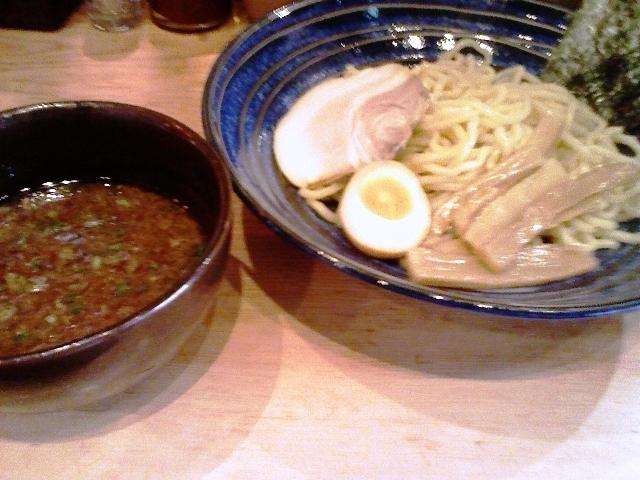 つけ麺醤油(並盛)@はぐれ星