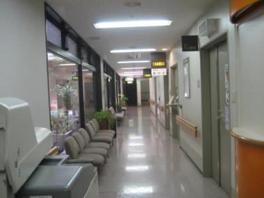 CT室の前