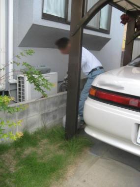 エアコンのガス注入