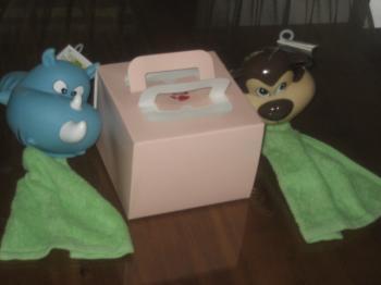 バースディケーキとおもちゃ♪