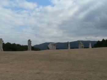 石の風車 全景