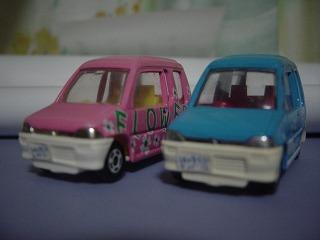 トミカ『三菱ミニカトッポ(絶版車)』