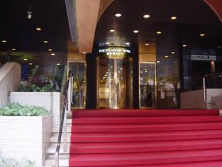 博多都ホテル玄関