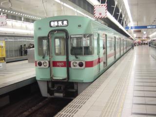 西鉄6000系電車(普通 筑紫行)