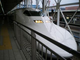 700系のぞみ38号東京行その1