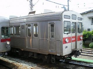 3500系と8500系。元営団車と元東急車