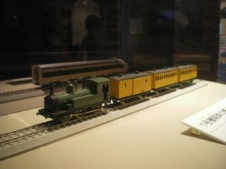 国鉄1号機関車?の模型