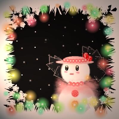 雪だるま貴婦人 雪子さん