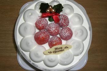 無難なケーキ(^^;)
