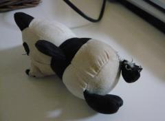 パンダちゃん負傷