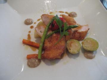 徳島産鶏ササミ肉のパルメザンチーズ焼き