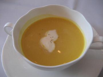 パンプキンの冷製スープ