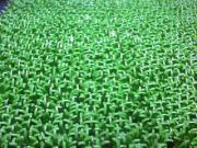人工芝のパイル