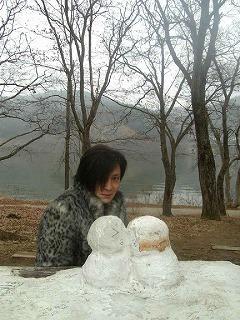 ロブ&雪ダルマ
