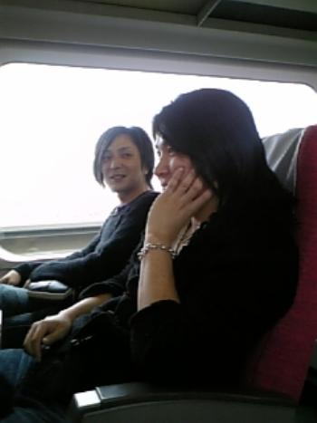 行き新幹線元気
