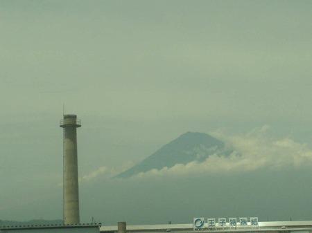 のぞみからの富士山