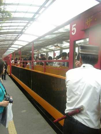 9,23トロッコ列車