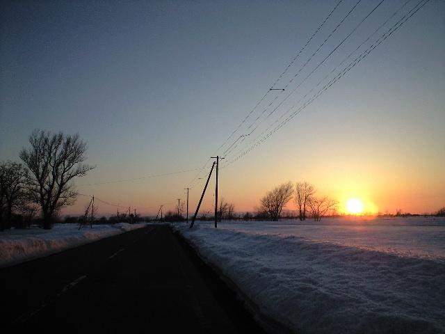 3・12の夕陽
