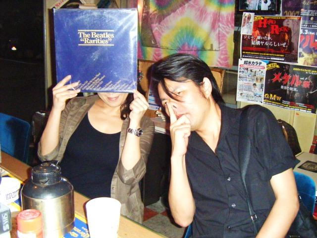 レコード。HASSYさん。 004