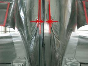 垂直尾翼の膨らみ具合、資料より