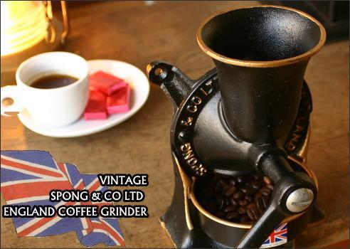 SPONG COFFEE GRINDER スポング コーヒーグラインダー 送料無料!!