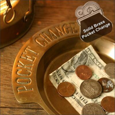 真鍮製 ポケットチェンジ