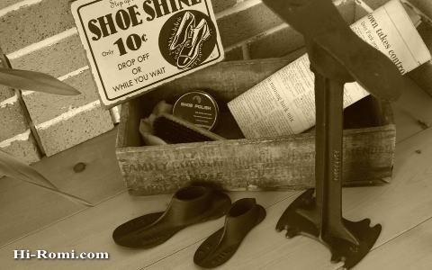 アイアンの修理靴型