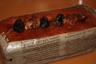 無花果のフィグと胡桃のパウンドケーキ