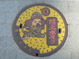 松本市のマンホール