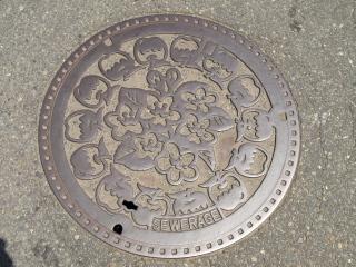 長野市のマンホール