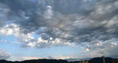 2008年6月16日(月)夕方の雲