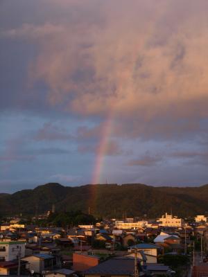 2008/06/23の虹@会津若松